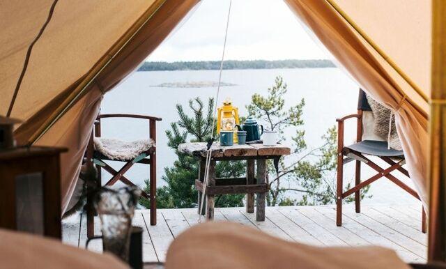I sommar vill vi testa glamping – här är platserna där du kan lyx-campa