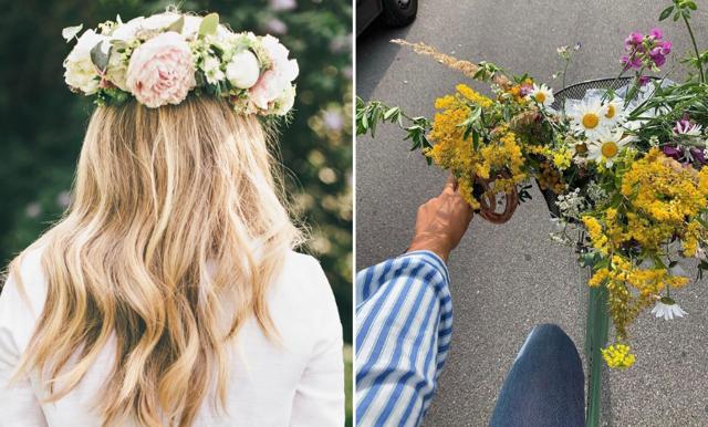 Bind din egen midsommarkrans – här är de bästa blommorna