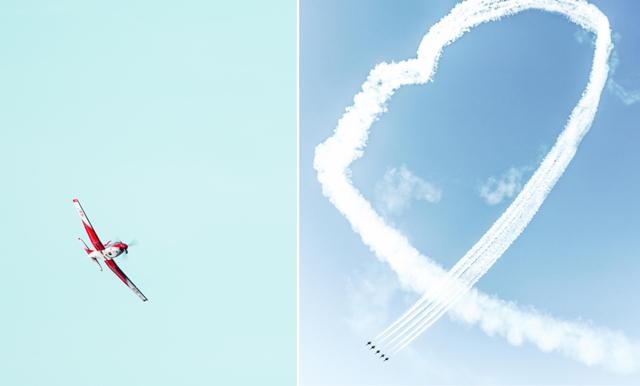 Det här betyder hjärtana du såg på himlen över Stockholm i morse