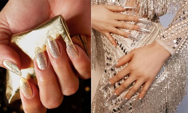 Kändisarna satsar på metalliska naglar – 13 nagellack som ger dig looken
