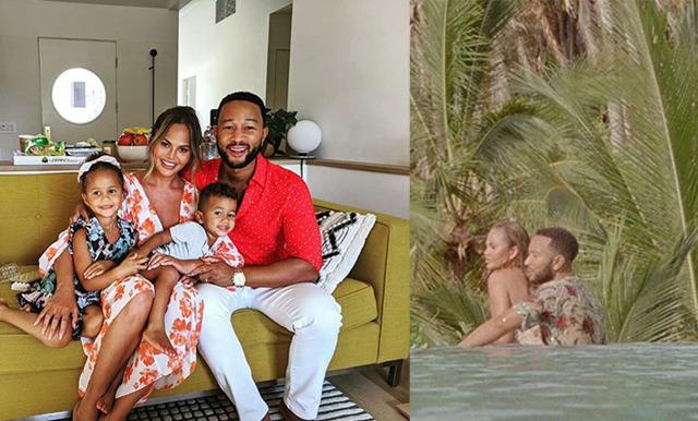 Chrissy Teigen gravid igen! Väntar sitt tredje barn med John Legend
