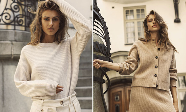 Den parisiska stilen! Soft Goats höstkollektion La Parisienne/Les Hommes