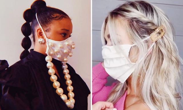 Ont i öronen av att bära ansiktsmask? 5 stilvarianter som löser problemet