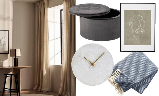 Uppdatera vardagsrummet utan renovering – 18 fina köp under 1 200 kronor