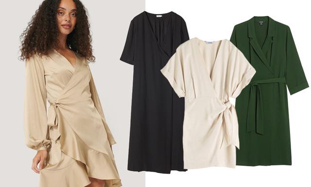 Finaste omlottklänningarna – 25 modeller att bära även fast det är höst