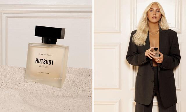 Linn Ahlborg lanserar ny parfym – så här doftar den
