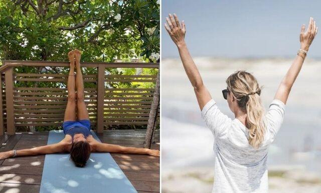En enkel yogaövning som får dig att sova bättre