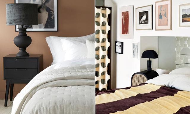 13 trendiga sängbord som piffar upp sovrummet