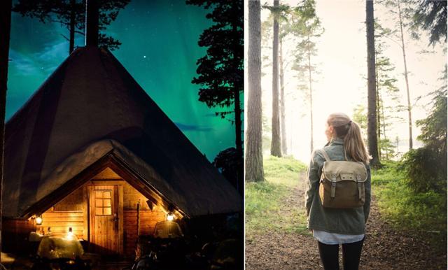 9 udda platser du kan övernatta på i Västerbotten