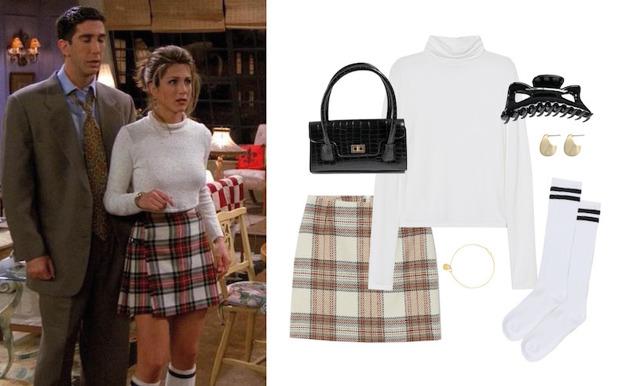 Sno stilen från modeikonen Rachel Green