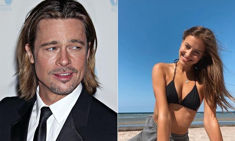 Brad Pitts new girlfriend Nicole Poturalski