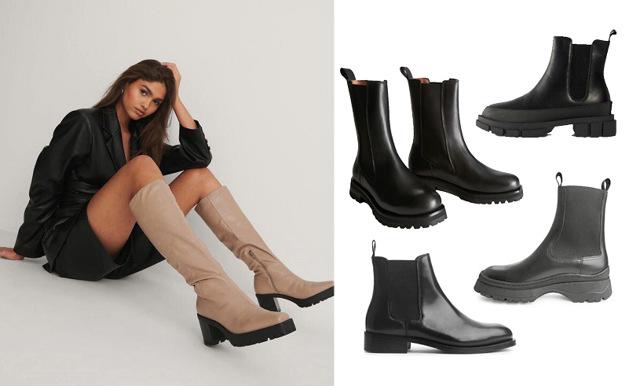17 snygga och trendiga boots för hösten 2020