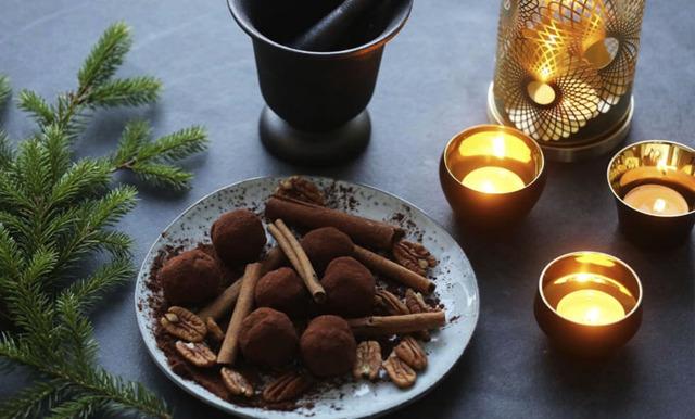 Fira första advent med enkla och goda pepparkakstryfflar