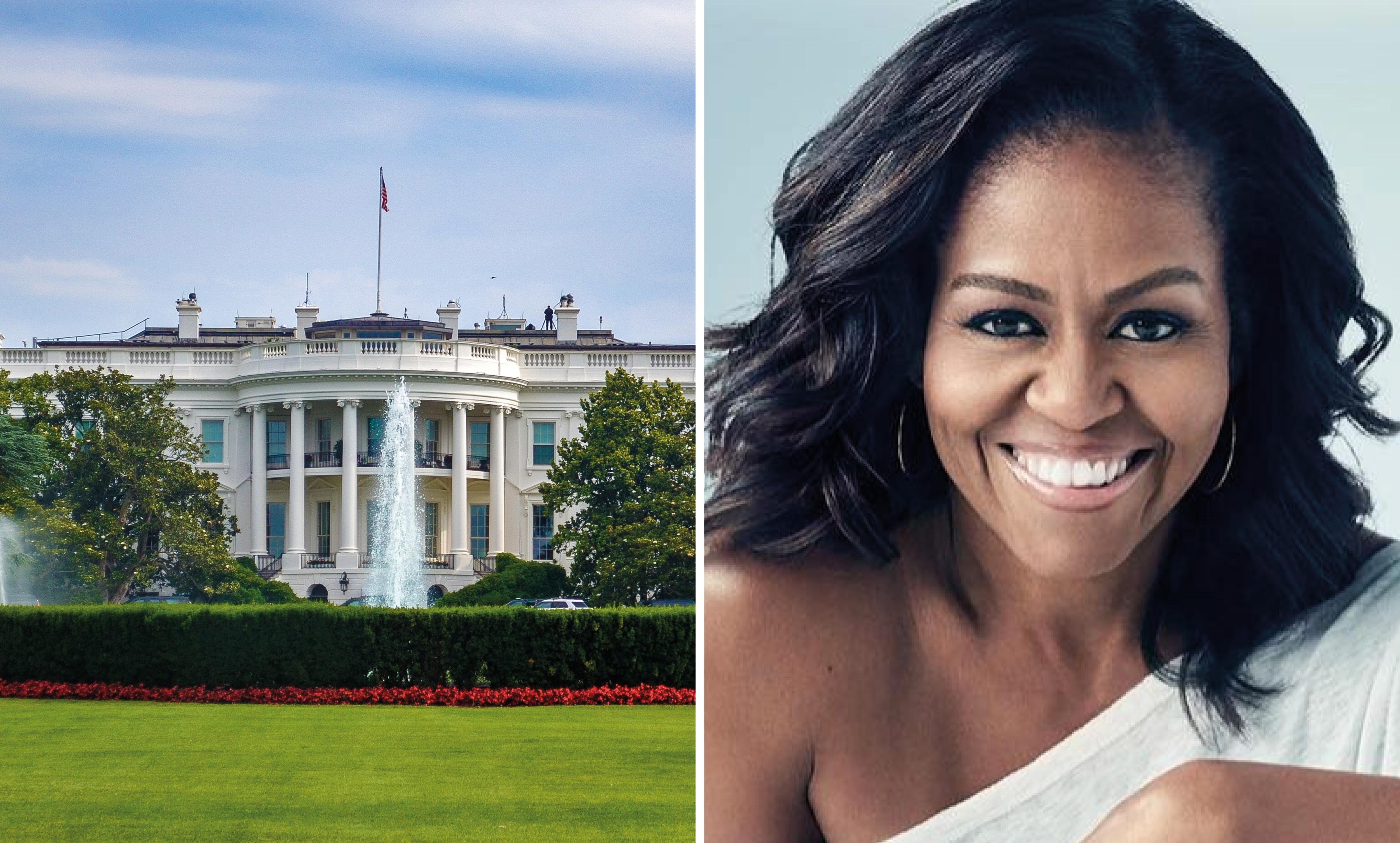 Michelle Obama Vita huset