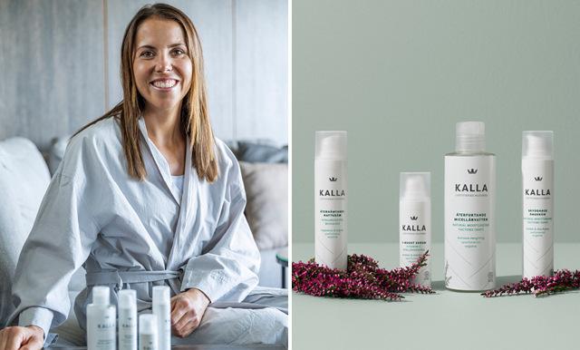Charlotte Kalla lanserar hudvårdsserie med Kronans Apotek – här är de nio produkterna