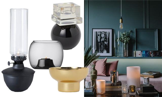 24 ljuslyktor som även blir till vackra stilleben i ditt hem