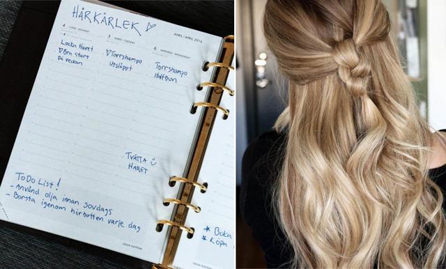 Därför bör du planera din hårrutin varje vecka – så här gör du