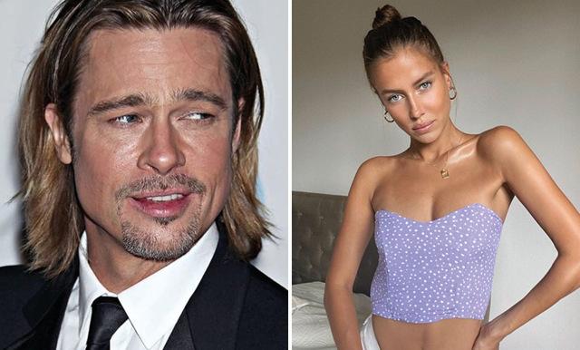 Brad Pitts nya flickvän Nicole Poturalski talar ut om hatiska kommentarer i sociala medier