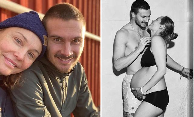 Carina Berg och Erik Berg väntar barn igen – här är deras ord om bebislyckan