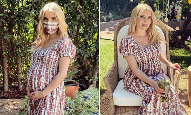 Emma Roberts mamma avslöjar dotterns graviditet av misstag