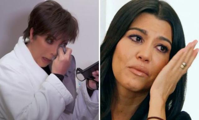 Kris Jenner i tårar över Kourtneys uttalande om utfrysningen
