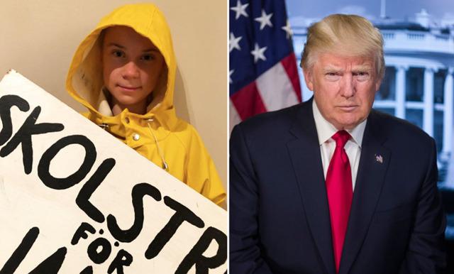 """Greta Thunbergs otroligt roliga svar till Trump: """"Måste jobba på att hantera sin ilska"""""""