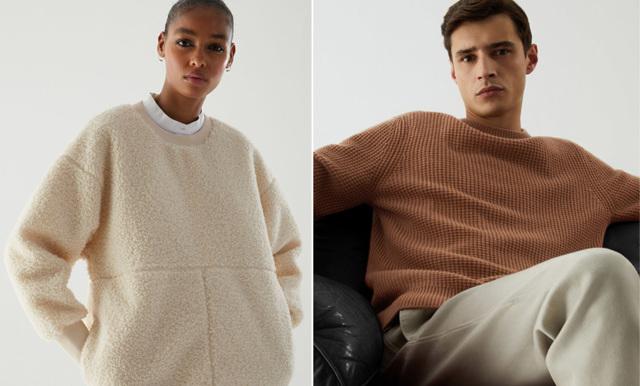 20 trendiga tröjor för både dam och herr – idag med 30 % rabatt