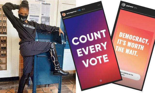 """Så reagerar kändisarna på valet i USA: """"Räkna alla röster"""""""