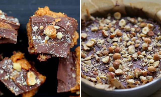 Nutella och peanut bites
