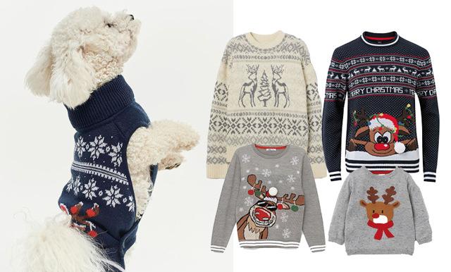 Snart är det jul igen! 44 jultröjor att matcha med hela familjen och vänner