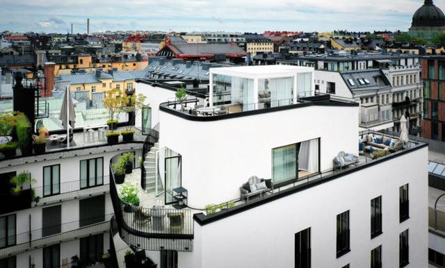 Penthouse mitt på Östermalm – här är den lyxigaste lägenheten på marknaden just nu