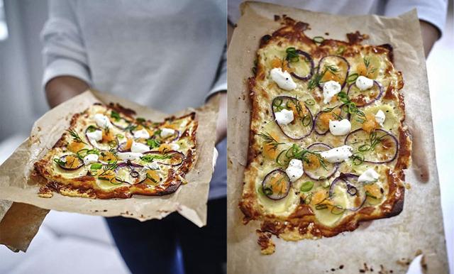 Foodjunkies löjromspizza på 20 minuter – perfekt till nyår