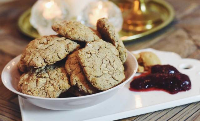 Ida Wargs pepparkaks-scones (glutenfria)
