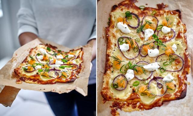 Foodjunkies löjromspizza på 20 minuter!