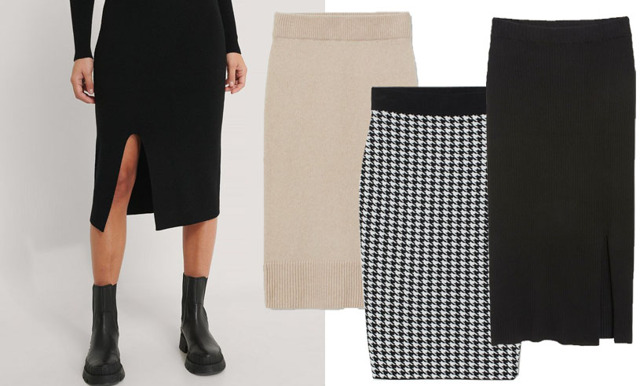 Skönt och trendigt! Höstens finaste stickade kjolar