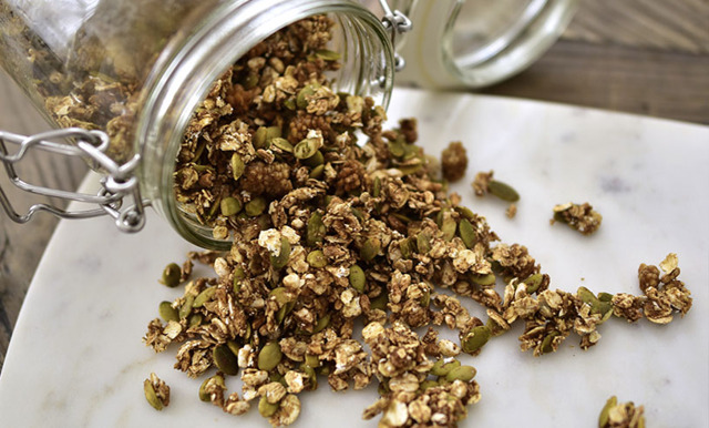 Ida Wargs glutenfria granola (vegansk)
