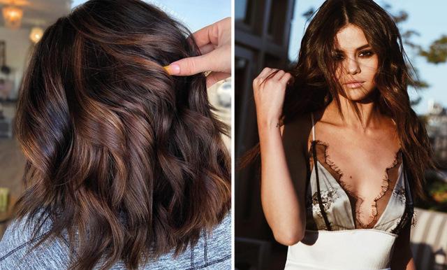 Säsongens finaste och mest lättskötta hårfärg för brunetter