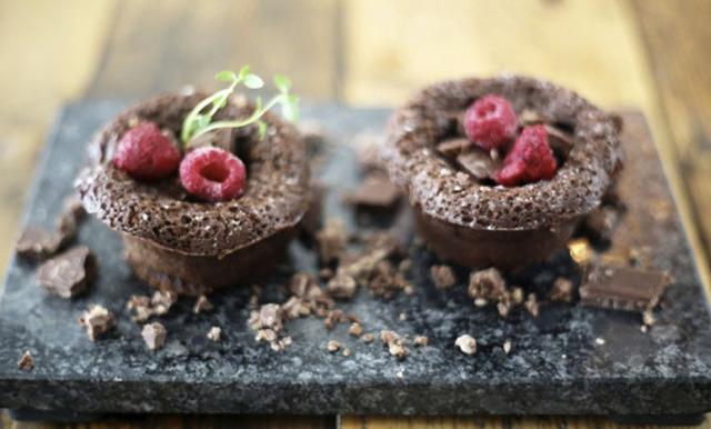 Klassiska chokladfondanter