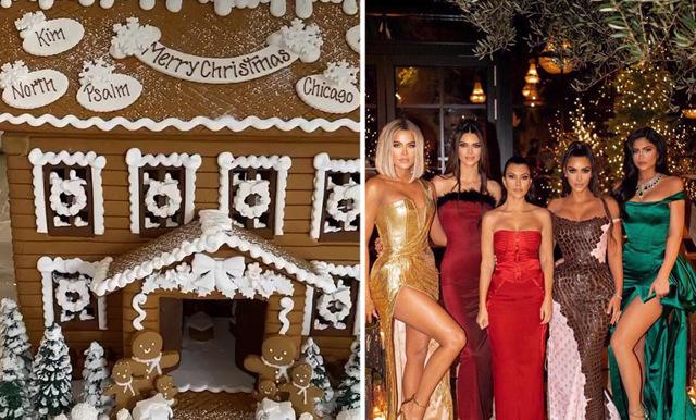 Kardashianfamiljens pepparkakshus kostar över 10.000 kronor