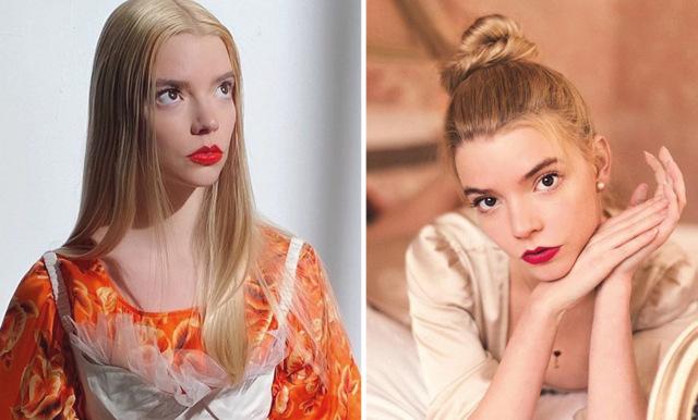 Anya Taylor-Joy avslöjar sina skönhetshemligheter och hur hon hanterar sin ångest