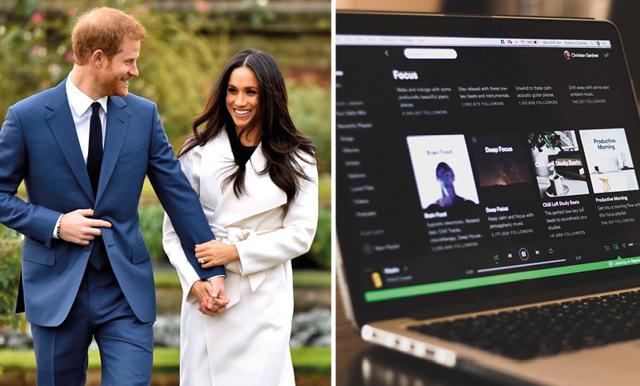 Harry och Meghan skriver på podcastdeal med Spotify för 25 miljoner dollar
