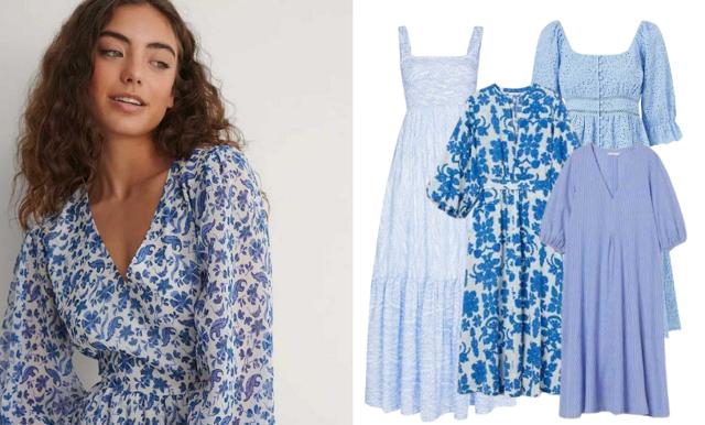 Möt våren i blått! Vi listar 29 klänningar i olika blå nyanser