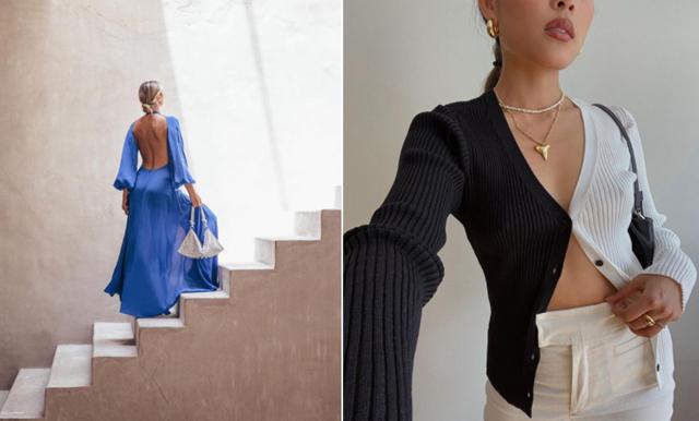 21 trendiga plagg med cutouts och öppen rygg