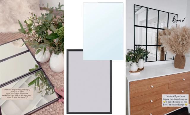 Ikea-hack! Så enkelt gör du din egen industrispegel – för under 325 kronor