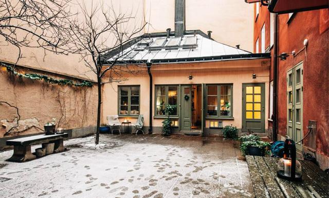 Nu kan du bo i ett eget townhouse – mitt på Östermalm i Stockholm