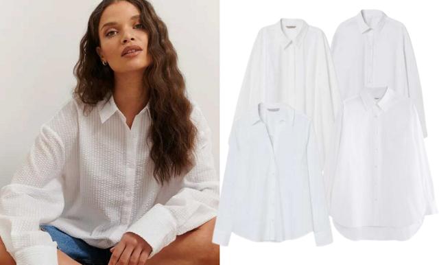 18 perfekta vita skjortor som passar till alla tillfällen