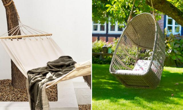 26 hängmattor och hängstolar vi vill ta det lugnt i i sommar