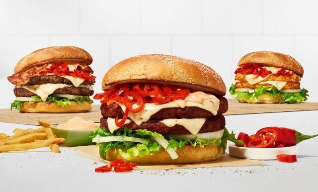 Max lanserar ny hamburgare – lyfter smaken av chili till en ny nivå