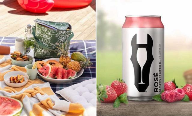 Uppgradera picknicken – med rosévin på burk!