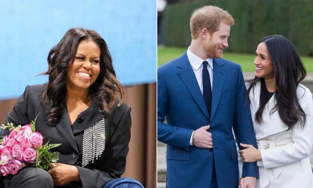 Michelle Obama hoppas på försoning – inom det brittiska kungahuset